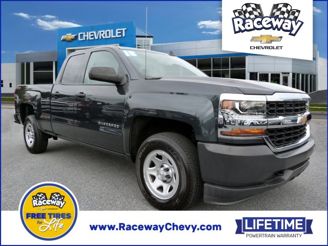 2018 Chevy Silverado >> Certified Pre Owned 2018 Chevrolet Silverado 1500 Work Truck